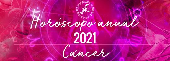 Horóscopo de Cáncer 2021